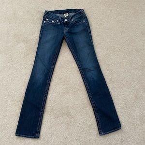 Women's True Religions Straight leg jeans